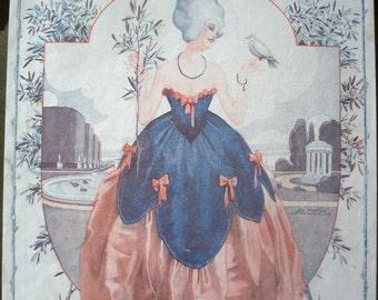 La Vie Parisienne The Garden - Print