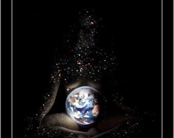 Gaea - 11x14 Art Print by DVS - Mother Earth, Gaia