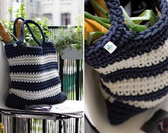 shopping bag crochet bag crochet handbag