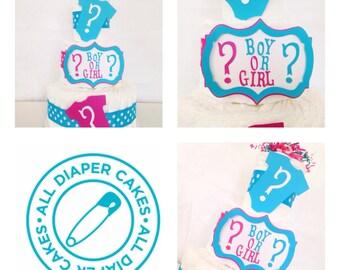 Neutral Diaper Cakes