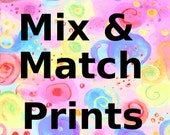 Mix and Match 5x7 - 8x10 - 11x14 Art Prints from Shop Designs - Nursery and Kids Wall Art Decor