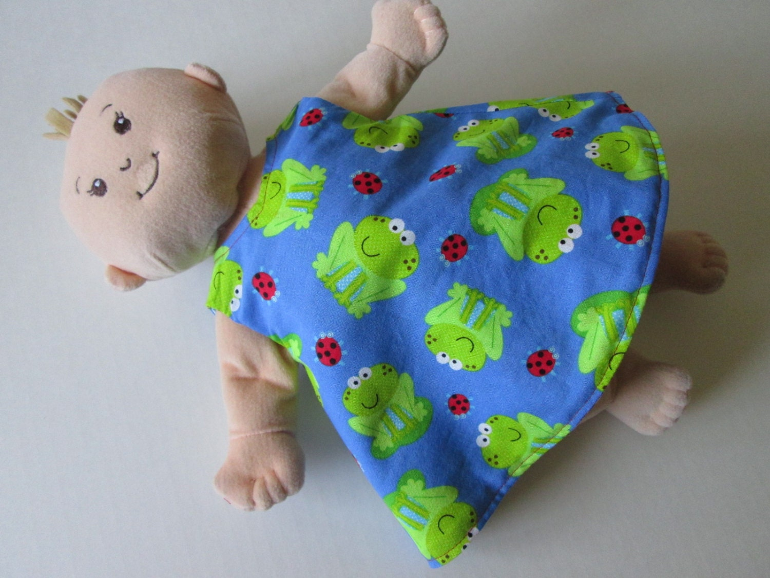 Baby Stella or Rosy Cheeks Doll 2 in 1 Reversible Dress for 15
