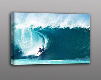 World Champion Surfer Kelly Slater Photo Canvas Print Surf Art Home Decor