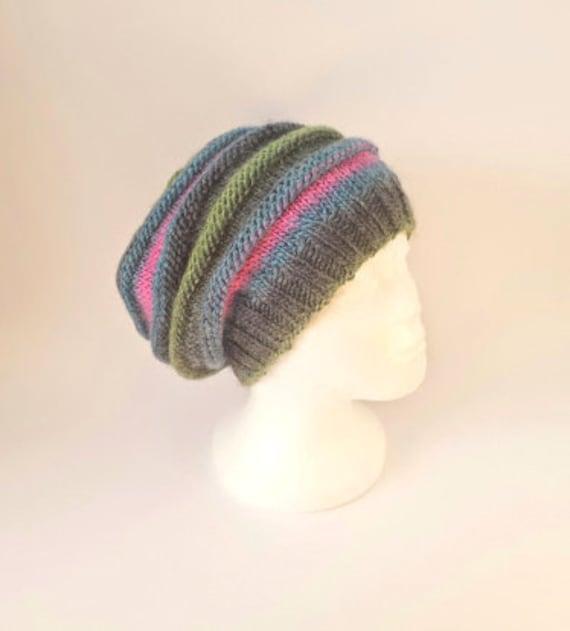 apprendre a tricoter un slouch