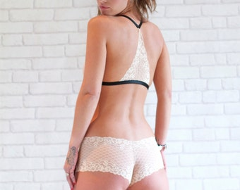 Hannah Lace French Knicker