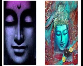 Buddhas - Buddha Prints - Digital Downloads - Digital Download Sheets - Collage Sheets - Dominoes Prints - Buddha Dominoes - DDP370