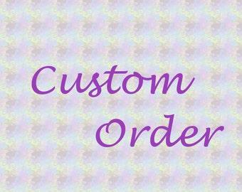 Custom Crochet Wristlet