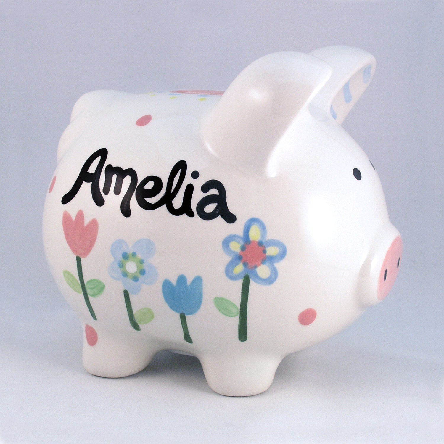 Personalized Piggy Bank Ceramic Personalized Custom