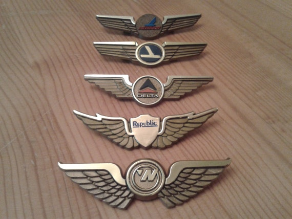 Cheap airline wings pin