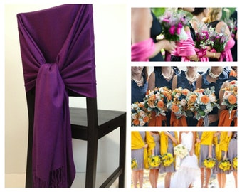 set of 12 pashmina , pashmina scarf, pashmina shawls, wedding shawls, pashmina wrap, bridesmaid shawls, wedding favors, chair covers