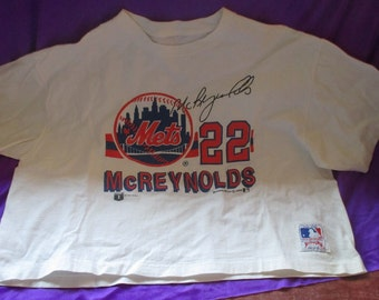 Vintage 1988 Kevin McReynolds NY Mets T-Shirt