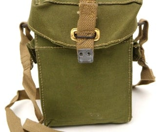 Original Vintage WWII British Engineer Bag - Used in the 40's and 50's