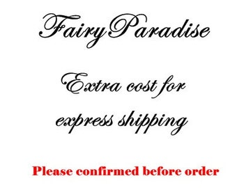 Upgrade to express shipping to US, Canada, Australia