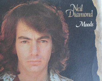 Neil Diamond- Moods - vinyl record