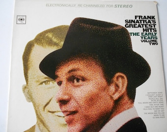 Frank Sinatra's Greatest Hits The Early Years Volume Two - vinyl record