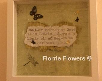 handmade bereavement gift personalised