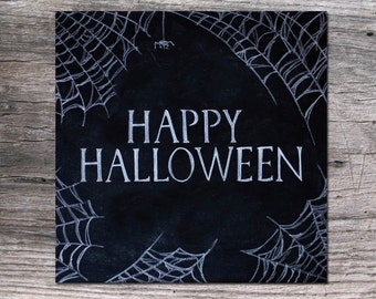 "Happy Halloween 20x20"" Digital Download Printable"