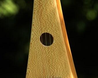 The Rambler Woodrow Handmade String Instrument  - Cross Between a Banjo and a Dulcimer