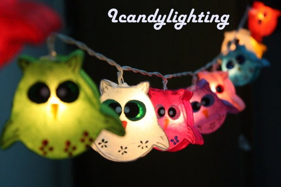 Fairy string lights 20 pieces for by CottonBallSecret on Etsy