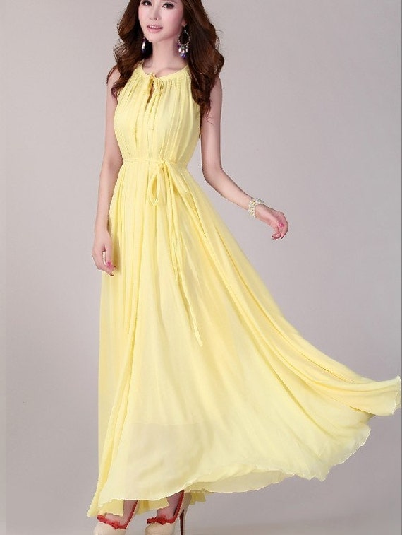 yellow wedding dress lightweight sundress plus size by lydress With sundress wedding dress