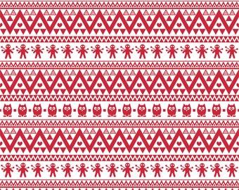 Brick red owl tribal pattern craft  vinyl sheet - HTV or Adhesive Vinyl -  Aztec Peruvian pattern HTV330