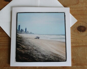 Gold Coast- Greeting Card