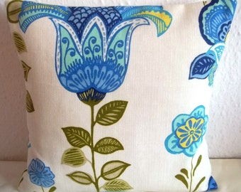 "Harlequin LILIA fabric cushion cover, pillow cover, 16"" x 16"" (41cm x 41cm)"