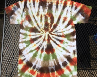 Men's Small Tie-dyed T-shirt