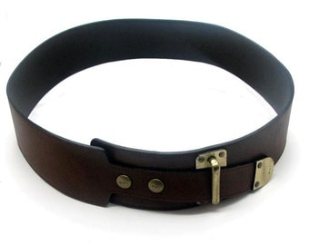 BARBARA BUI, authentic vintage leather belt