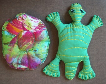 Cloth puppet turtle puppet tortoise