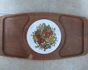 Keyaki wood cheese tray board