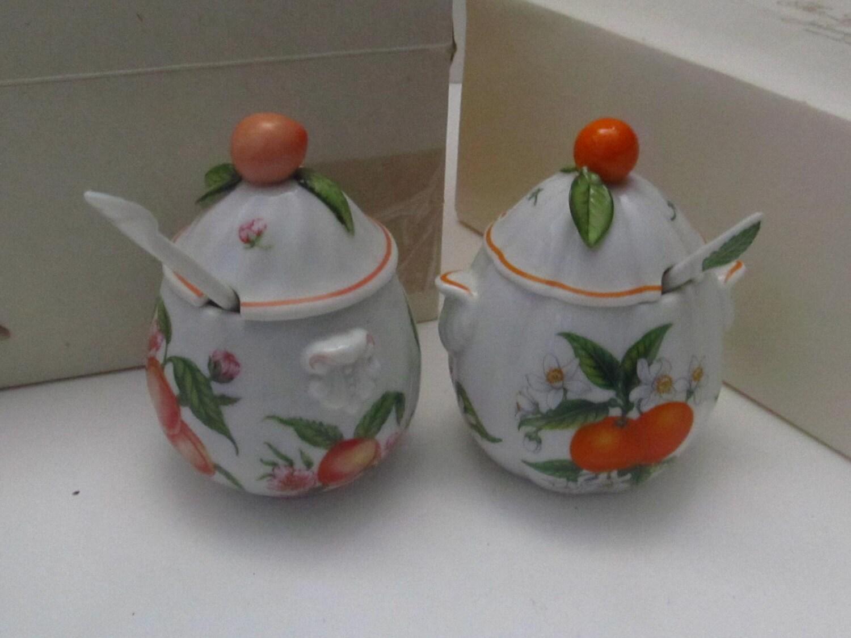 Fruit decor jam jars - Decorative fruit jars ...