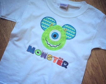 Monsters Inc: Mike Mickey Head Shirt