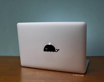 Happy Whale Macbook Decal Laptop Sticker Macbook Pro Air Vinyl Decal Macbook Sticker Macnip azs