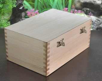 Wooden Storage Box for Chess Set of 3 Inches to hold 34pcs from India. SKU: M0089