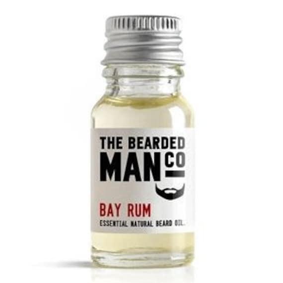 Beard Oil Bay Rum Conditioner Male Boyfriend Dad Gift 10ml