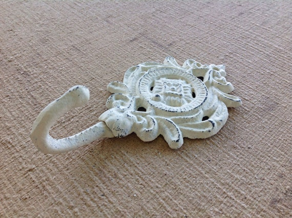 shabby chic crochet support mural blanc crochet. Black Bedroom Furniture Sets. Home Design Ideas