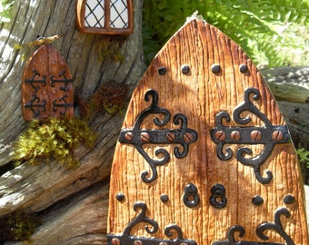 Fairy Door Enchanted Gothic Style Medieval Castle Or