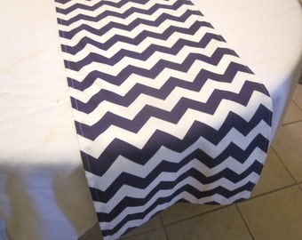 Purple Chevron Table Runner, Wedding, Bridal Shower, Baby Shower, Graduation, Birthday