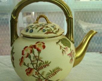Antique Royal Worcester Teapot