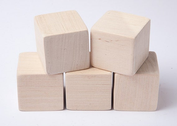 Inch cm unfinished wood blocks for crafts