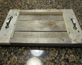 Rustic Casserole carry and display tray