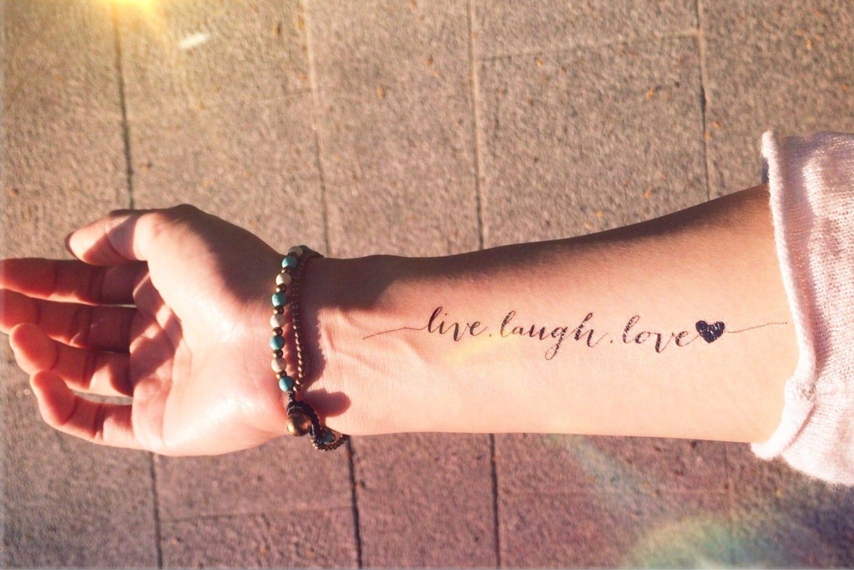 Одна любовь на всю жизнь на английском тату фото