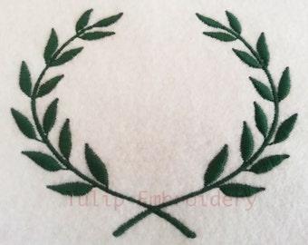 Olive Leaf Embroidery Design