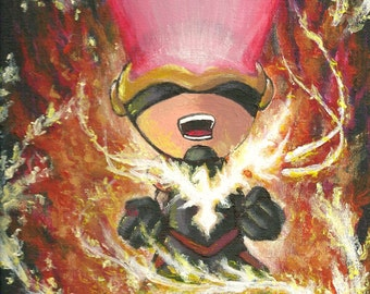 ORIGINAL Cyclops painting