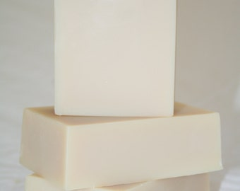 Extremely Mild Unscented Goat's Milk Soap Bar For Babies(Not Tear Free) Or Anyone Who Wants To Baby Their Skin