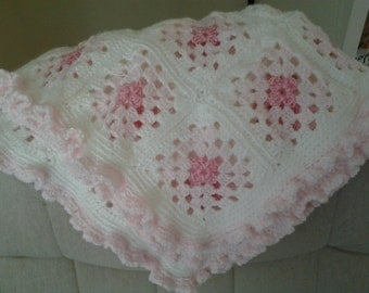 Granny Square Baby Afghan