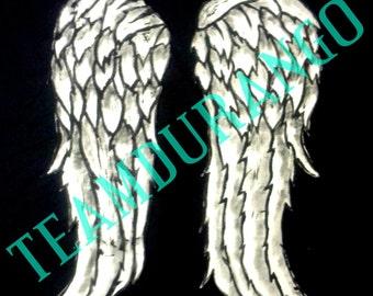 Full Size Daryl Dixon Angel Wings
