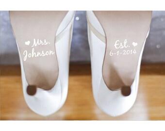 Wedding Shoe Decals Shoe Decals for Wedding