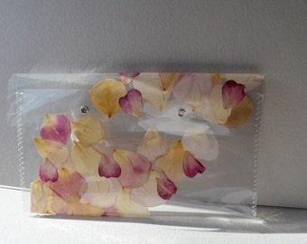 rose petal clutch